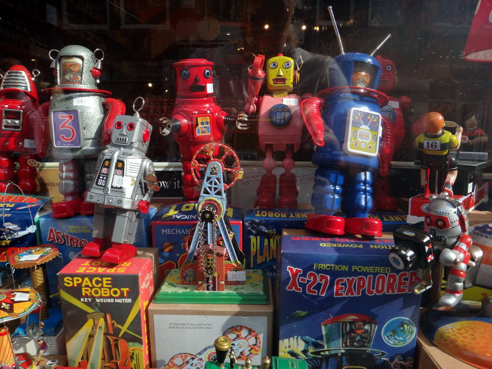 2013 Amsterdam / toy shop display