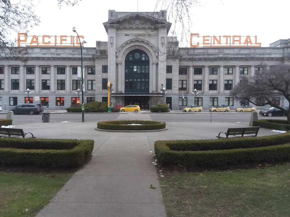 Pacific Central Station, Vancouver BC