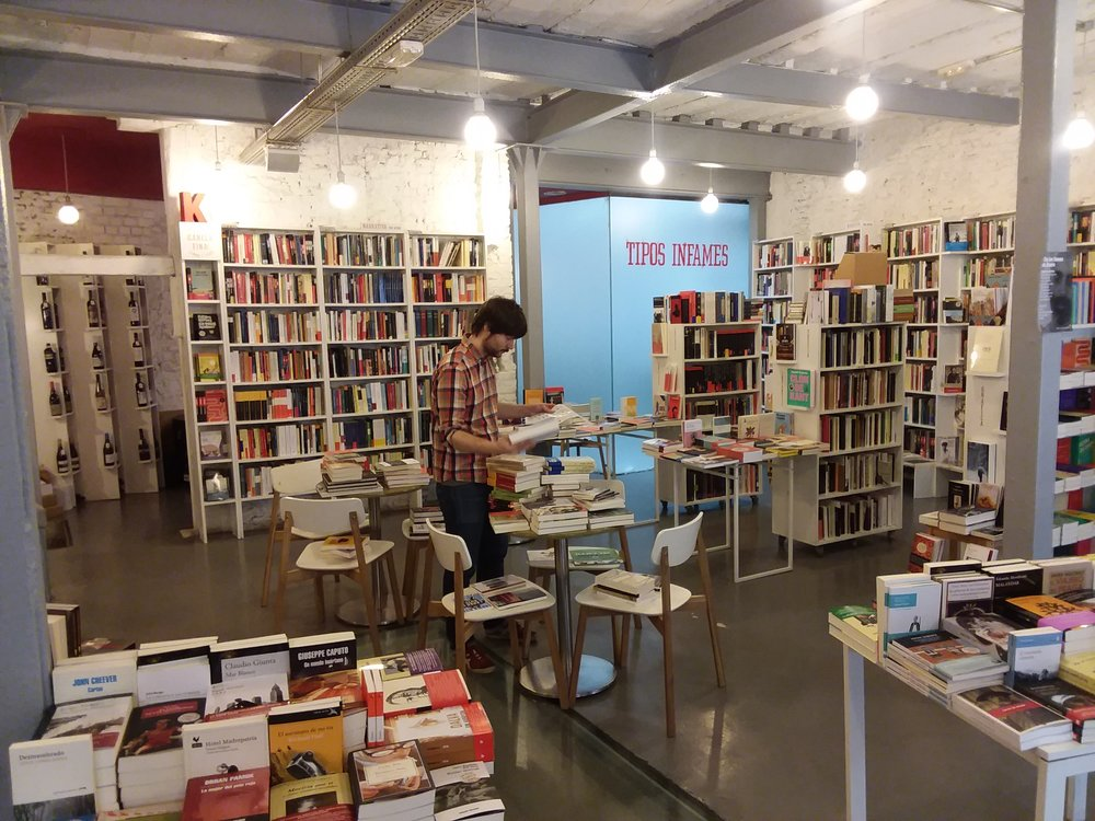 so many books, they need to store to books on chairs!