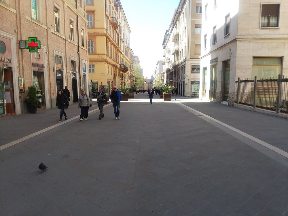 Gharibaldi promenade Ancona