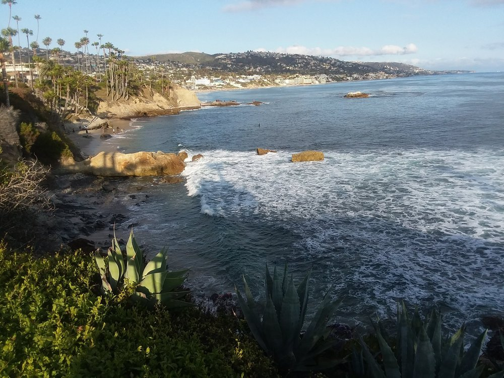 A walk along the beach rejuvenates