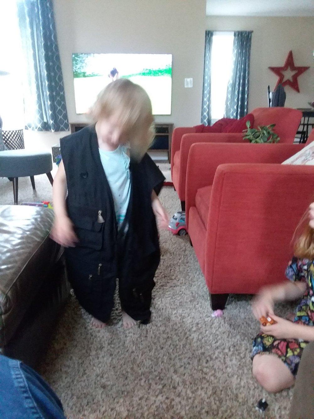 """I think I know where Grandpa put his skivvies!"""