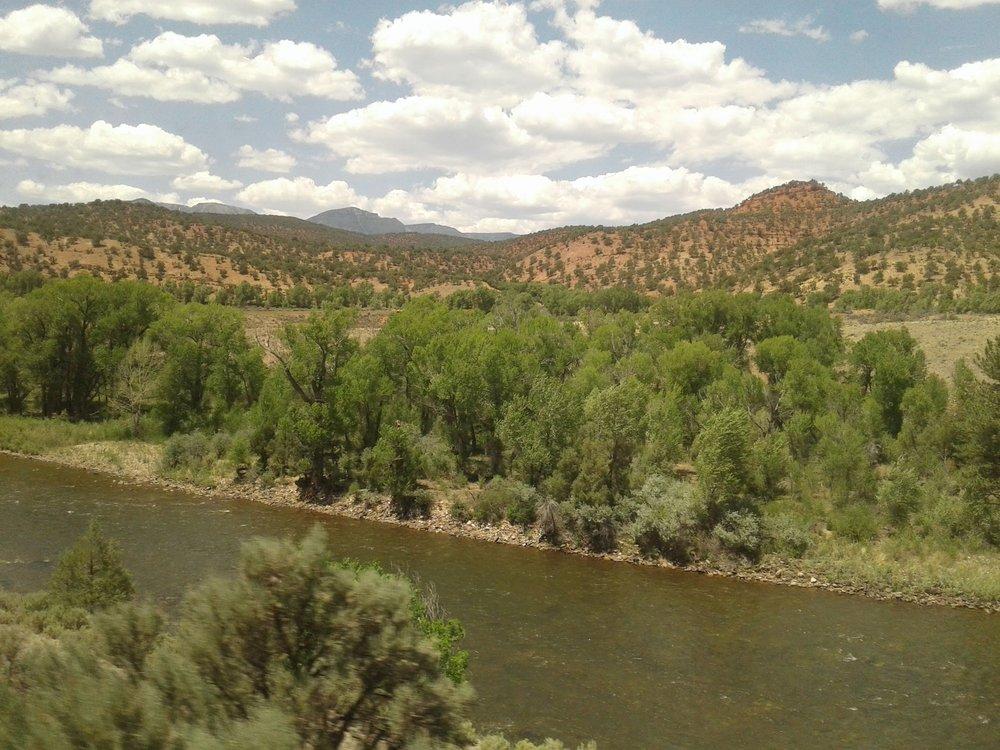 Daytime panorama, west of Denver