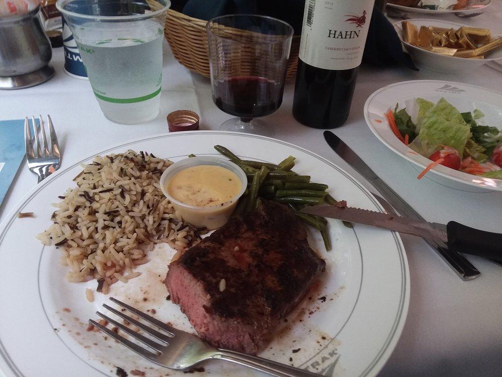 Dinner aboard the California Zephyr