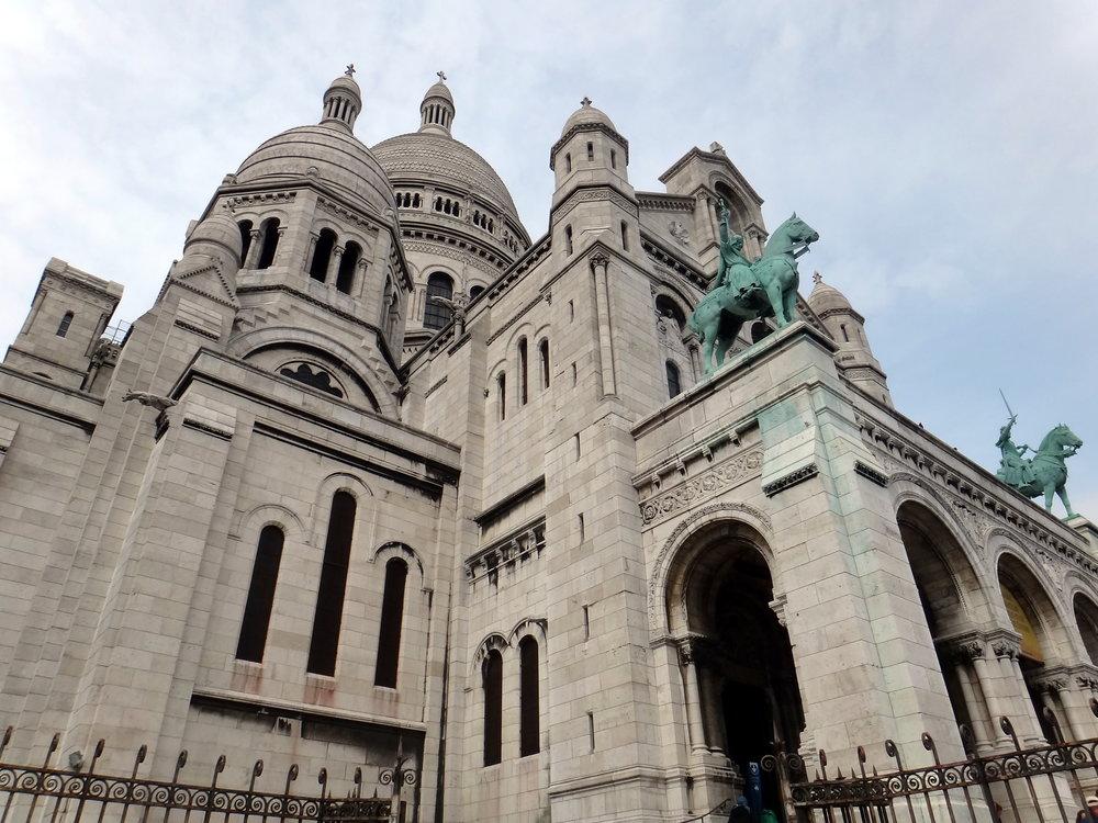 photo credit: Carolyn Marquardt  / Sacred Heart Basilica in Paris
