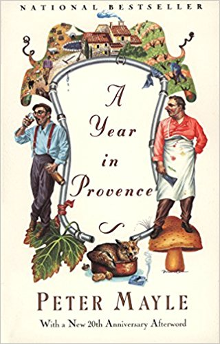 copyright  A Year in Provence,Peter Mayle