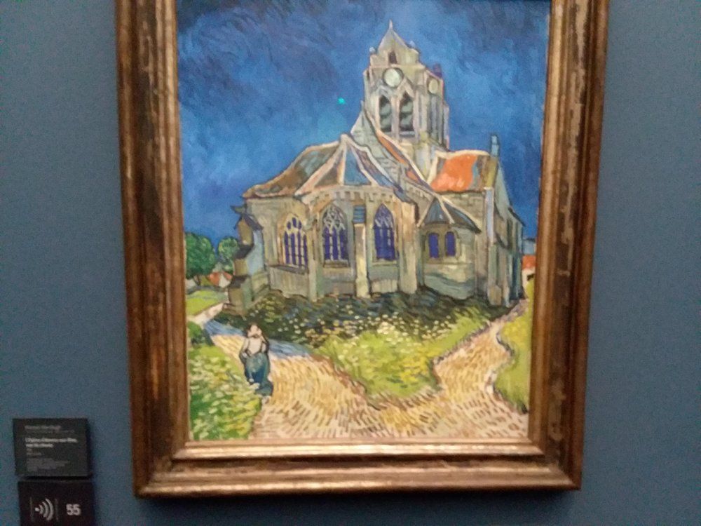 Most of my Van Gogh knowledge comes via Dr. Who. (In the episode, there is an alien in one of the church windows.)
