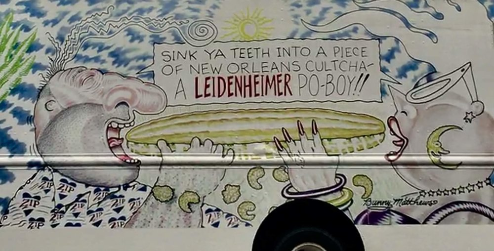 A  Leidenheimer  bread truck delivering manna from Heaven