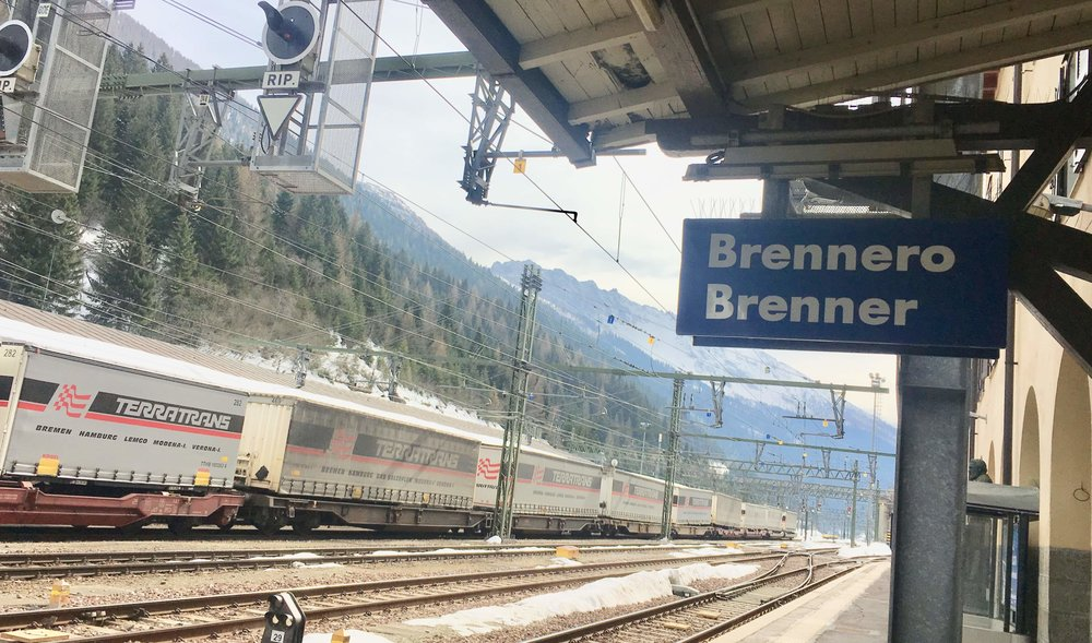 A sense of desolation greeted us in Brennero