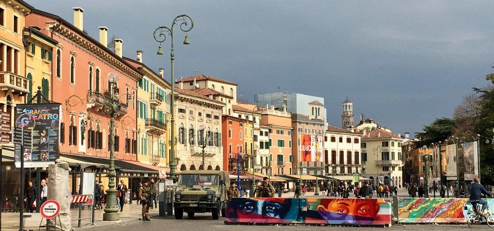 Piazza Bras, Verona
