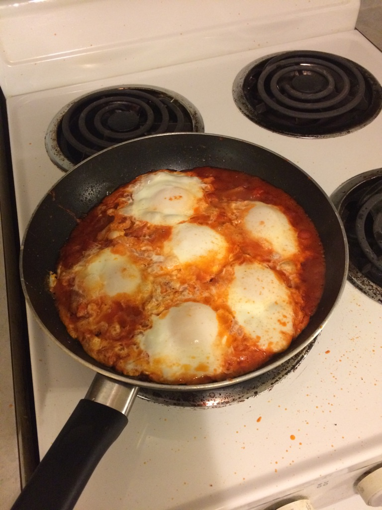 SHOCKINGLY SIMPLE SHAKSHUKA