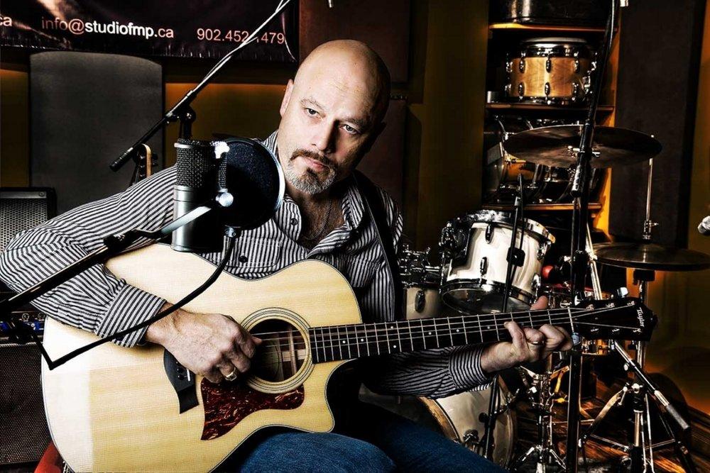 Scott Ferguson. Studio FMP, Halifax Music Producer, drummer, videographer