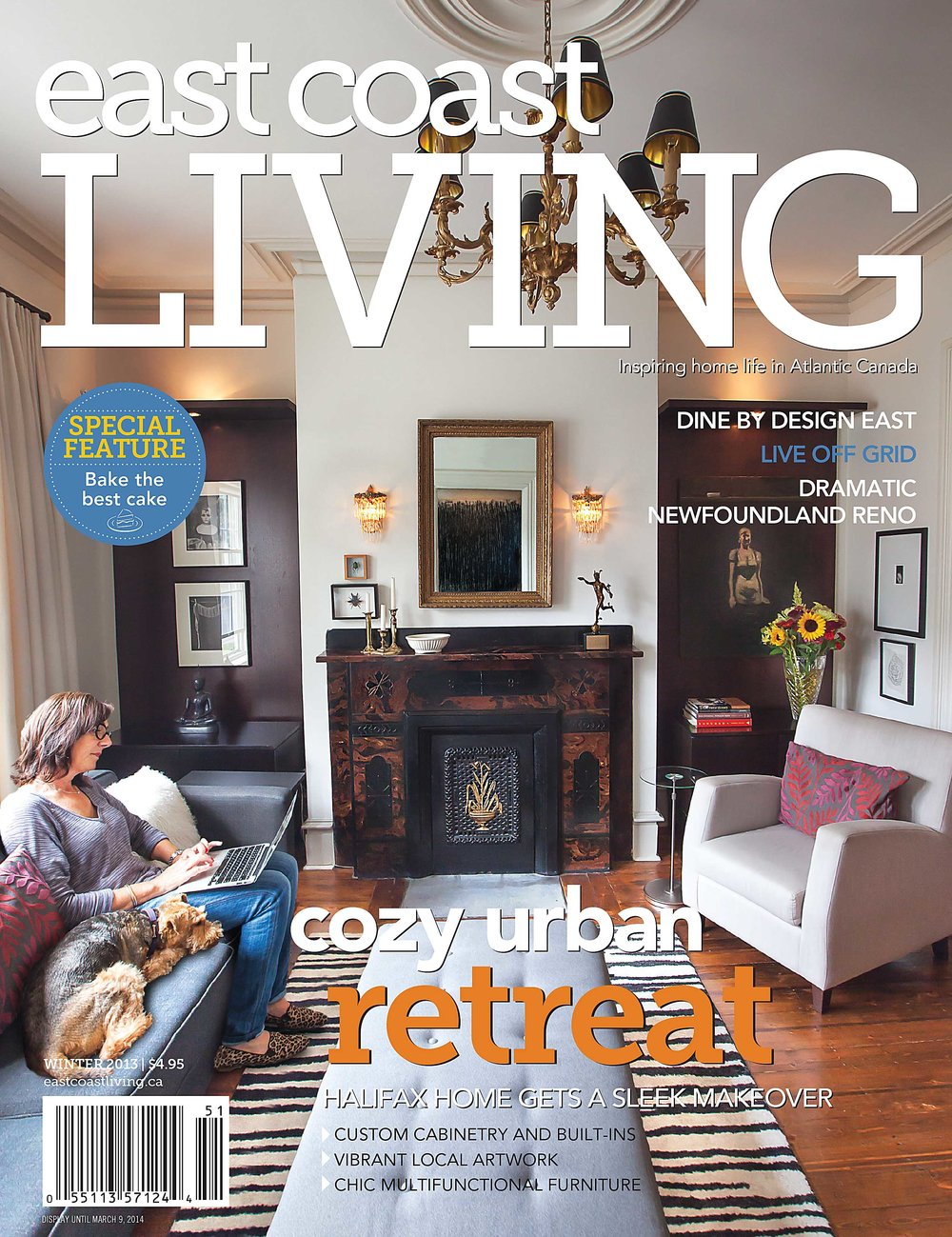 East Coast Living Front Cover 2013