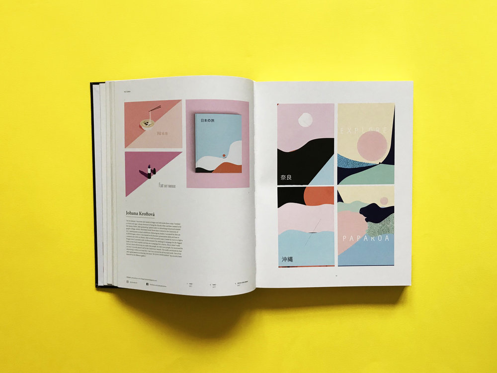 WoW! - I was selected in PICTORIA BOOK as one of the contemporary illustrators.