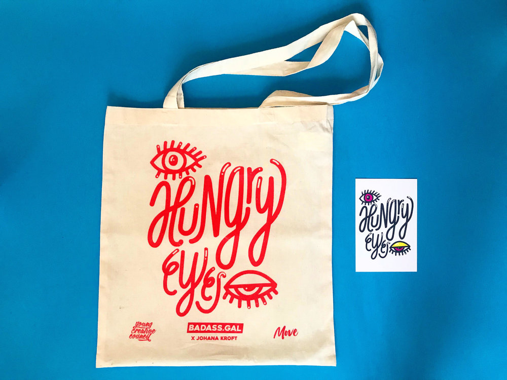 Hungry! - My last design for YCC on festival D&AD New Blood. So proud :)