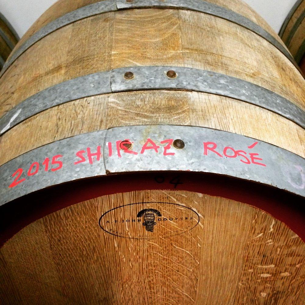 Rosé during fermentation, vintage 2015