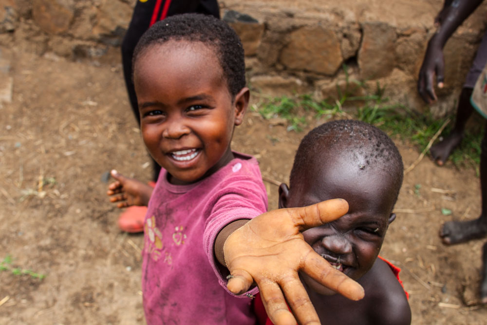 This Ethiopian child wants more than a handout; she wants a relationship.