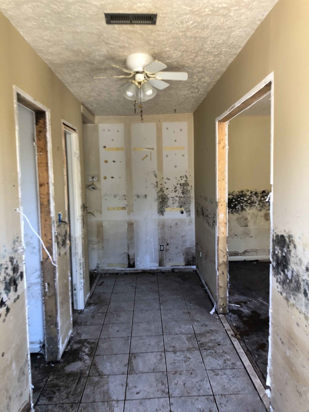 """The amount of flooding in Conway overwhelmed many residents, who have had to relocate until they are in a position to """"mud out"""" their homes. St. Paul's Conway is helping their neighbors with the help of donors from across the country."""