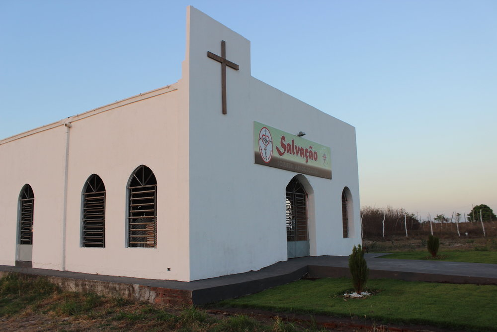 "Salvation Church in its ""new"" location."