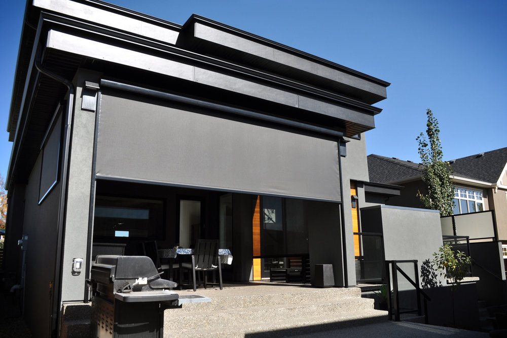 DECKS - Enclosing your deck creates added living space to your home, offering protection from sun, wind and insects while adding privacy and comfort.