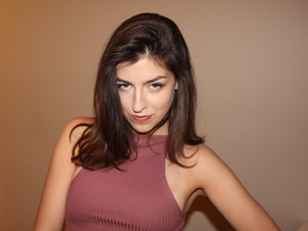 Copy of Pictured: Kate Schroder as Zoe.
