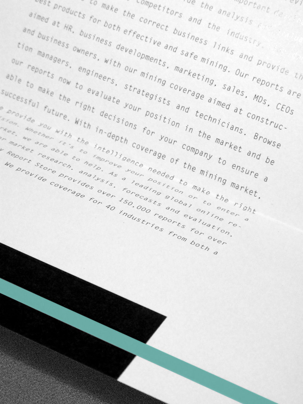 Detail of the letterhead