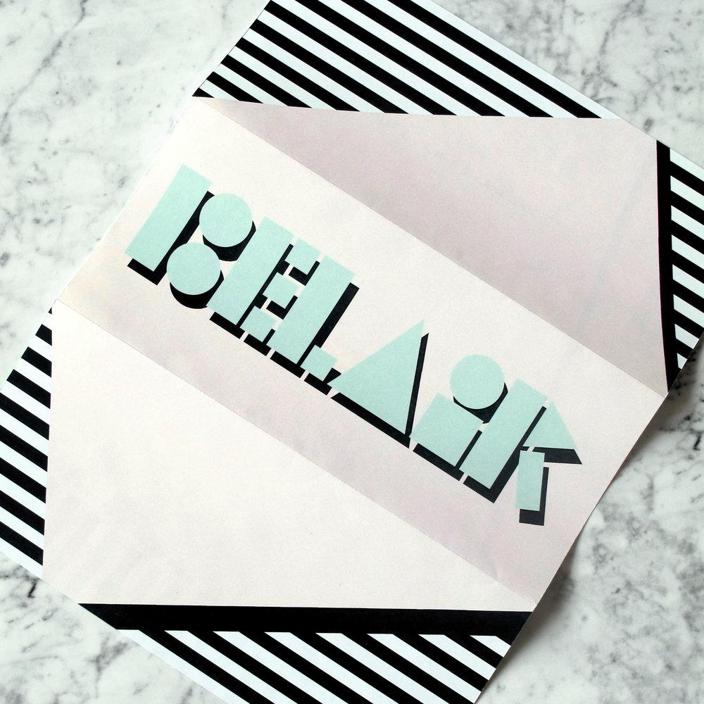 Back of the letterhead