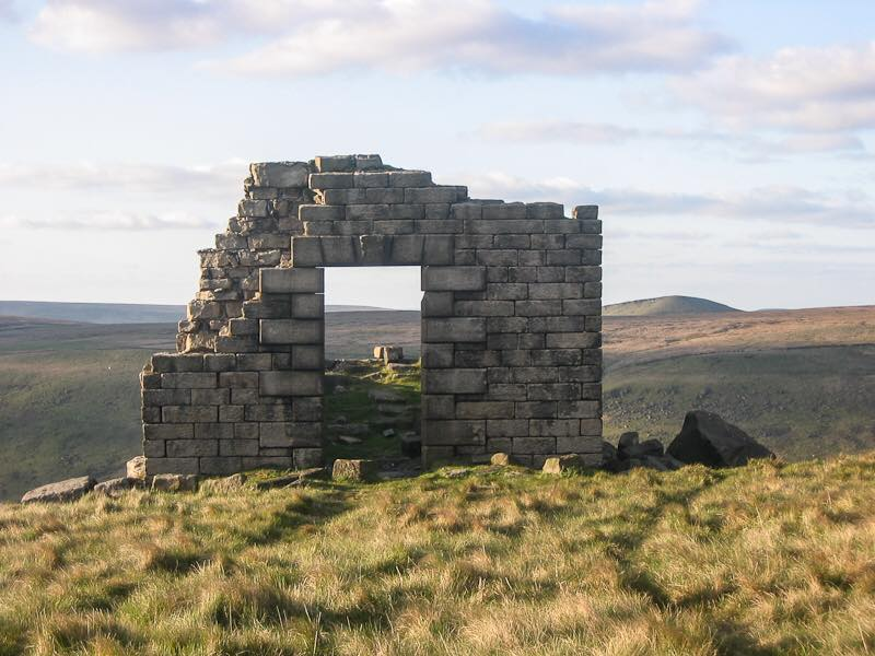 Ruin on The Cotton Famine Road