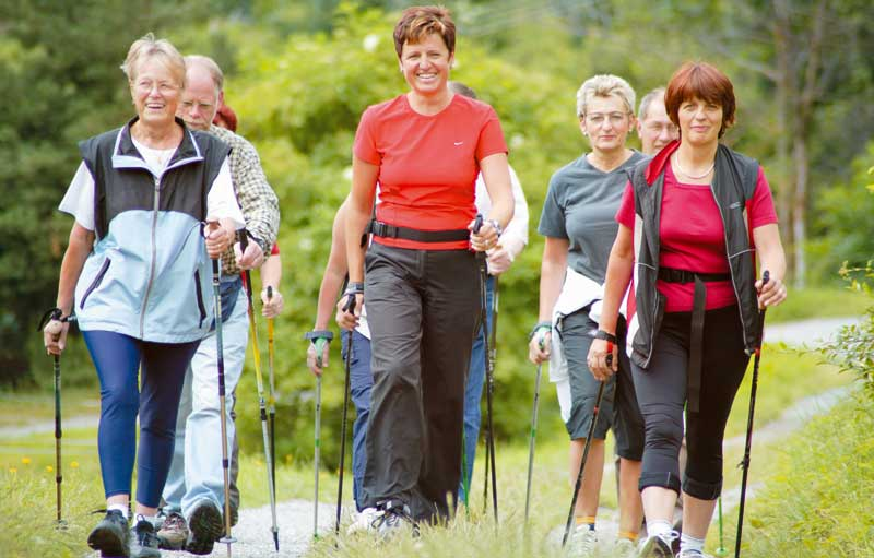 Nordic Walking is a great way to get more active and meet new frielnds