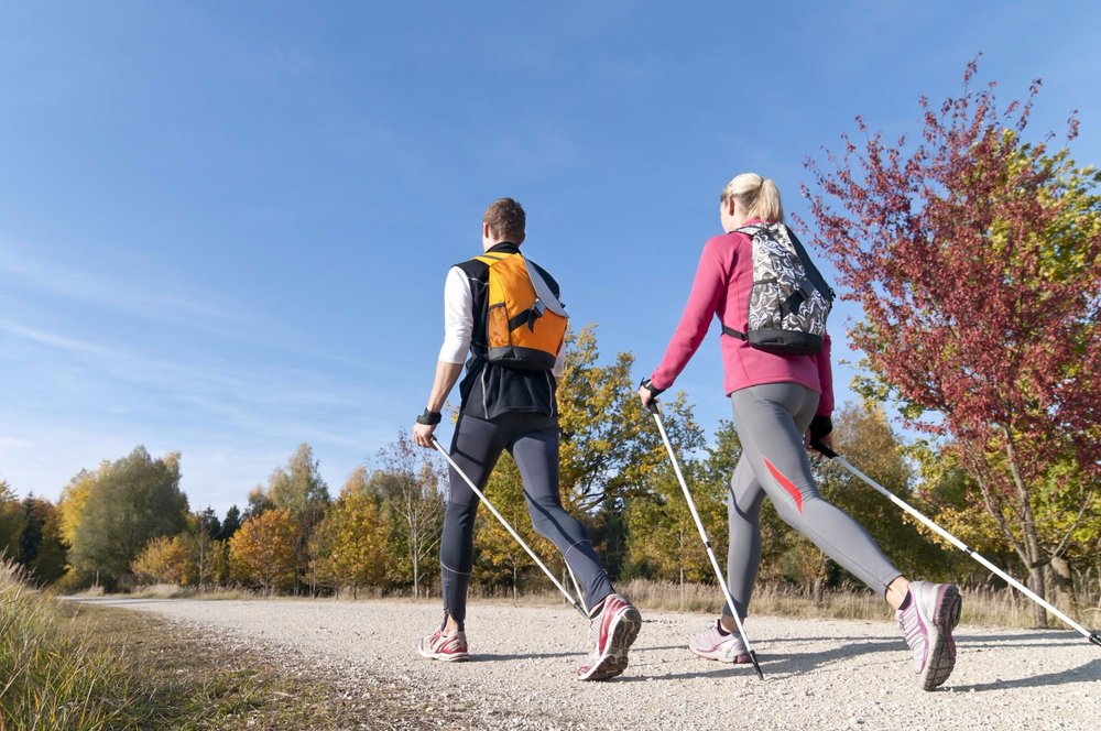 UProjects offer Nordic Walking for a full body work out