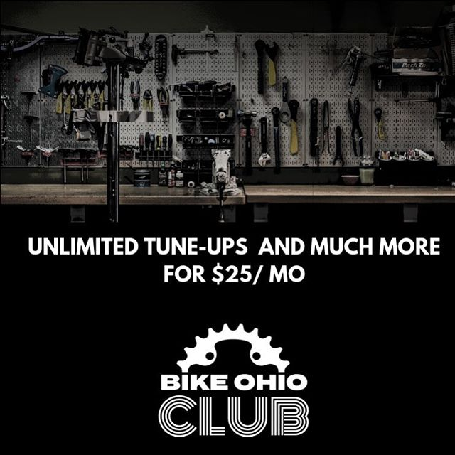 It's overhaul season and the perfect time to become a member of the Bike Ohio Club!  Join the Bike Ohio Club for only $25/month and enjoy: • A complete overhaul ($150 value) • Unlimited tune-ups for the year on up to three bikes • Member exclusive discounts  https://bikeoh.com/bike-ohio-club