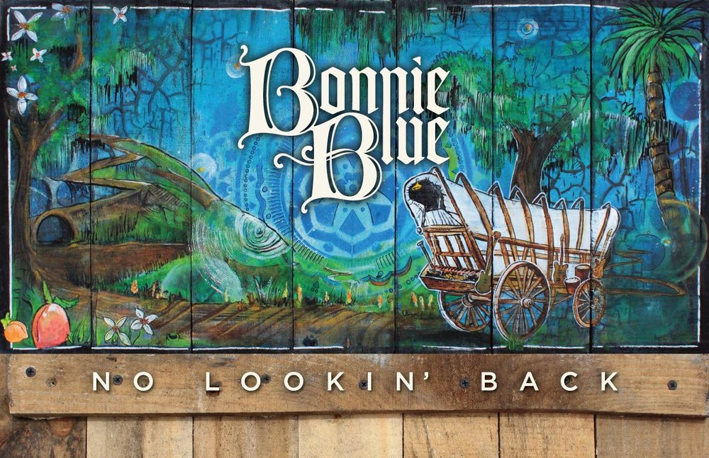 I met Bonnie Blue at the  Ponte Vedra Concert Hall  when they opened for the  Freight Train .  I loved their set and made a  point to go see them every chance I could from that point on.  Their originals are reminiscent of the greatest of our family genre, but with a fresh perspective.