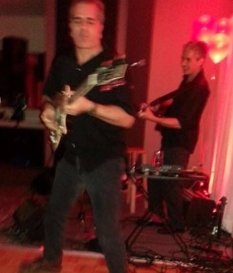 Augy G with brother Ernie performing at a Private Function in Toronto