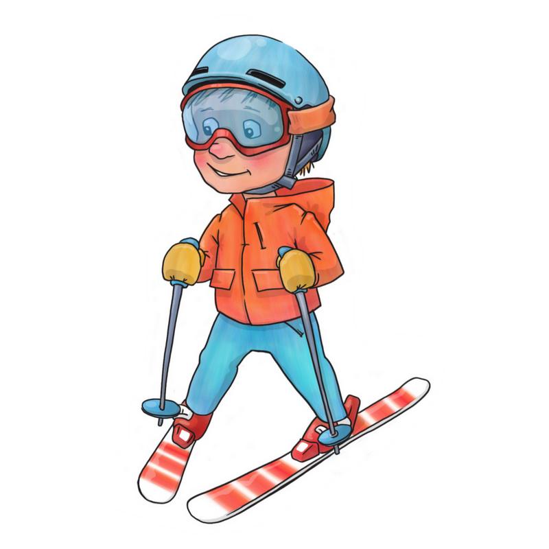 Jacob's First Ski Holiday