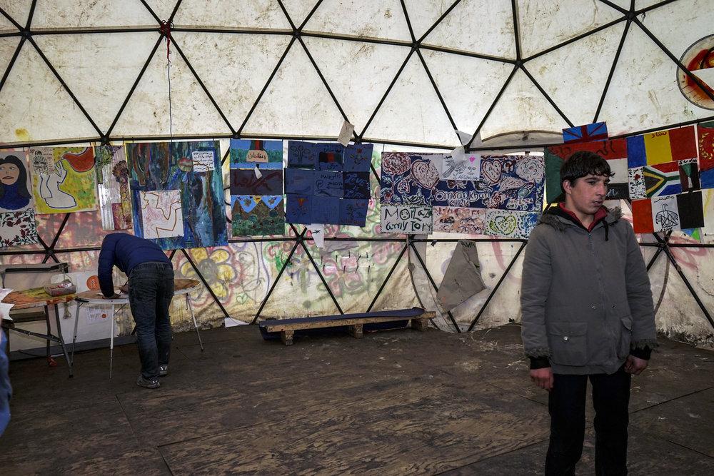 Art for Peace Calais refugee camp 2.JPG