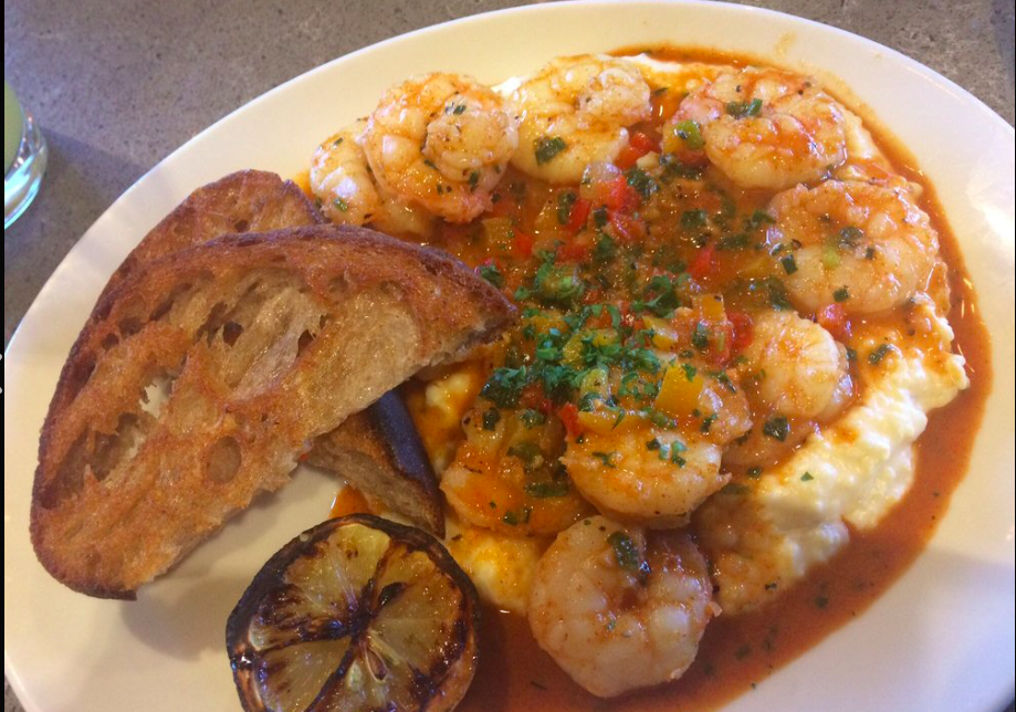 Tupelo Honey - If you grew up on shrimp and grits, then trying these are a must! I first visited Tupelo Honey in Chattanooga, TN but I've been to ones in Atlanta, GA and Bristol, TN and the thing that I love most about this restaurant is that it is consistent! The main star of this dish however is not the shrimp, it's the creamy dreamy goat cheese grits! I would honestly order a plate of grits alone with their apple butter biscuits. Tupelo serves one of the best shrimp and grit dishes across the market. Google the closest one to you and celebrate yourself! Also, leave off the chorizo...save the cows?