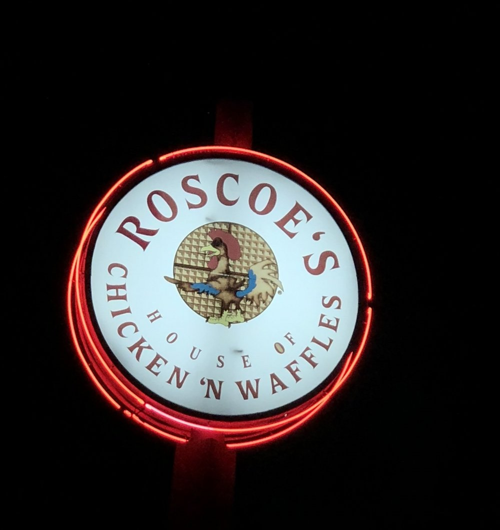 Roscoe's Chicken and Waffles - So, it's my first time here in LA and everyone said that we should make this one of our food stops when we got here. We went to the one on Pico Blvd. Well, the truth is that it was just...