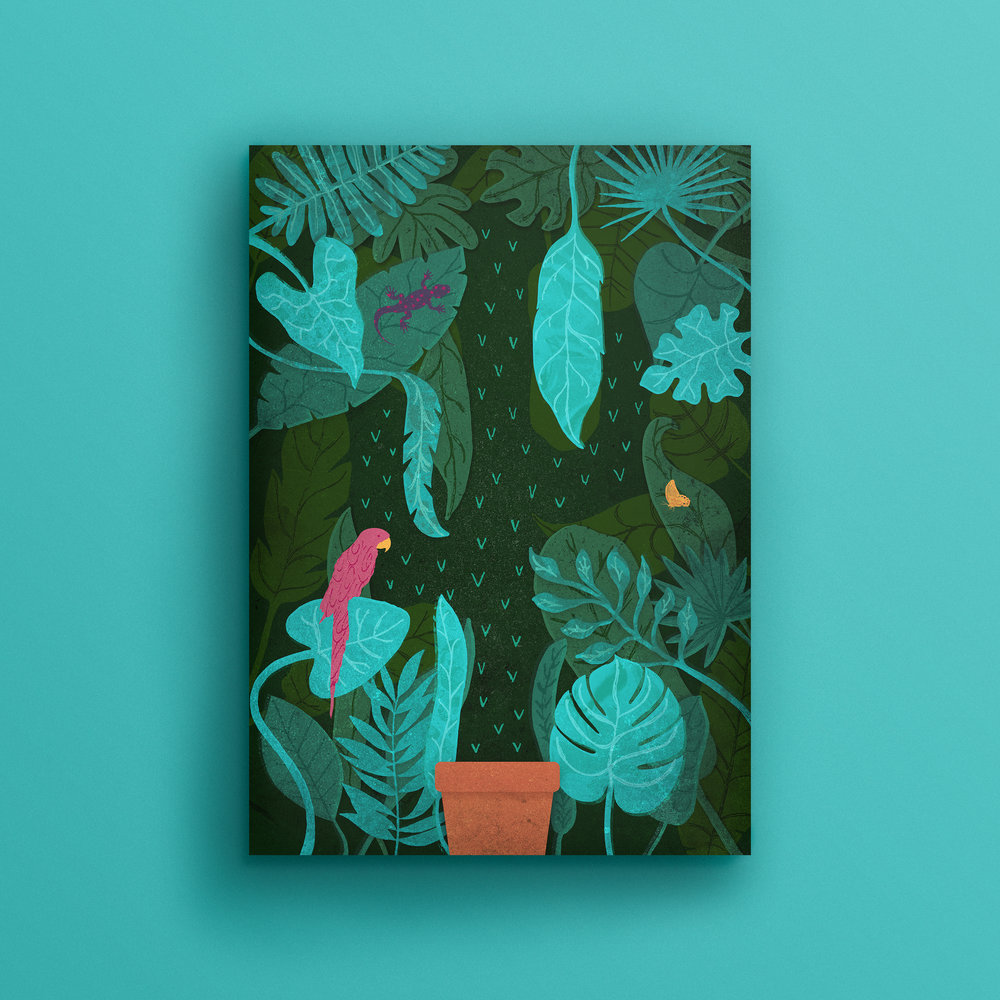 Botanical Gardens Illustration Joshua Sauder