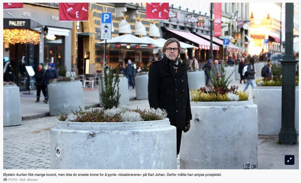 Artikkelen i  Aftenposten denne uken  sier vel det meste om behovet for bedre samarbeid i Oslo. At bildet også er tatt foran Paleet er jo fint. Det er der jeg hadde min base frem til i sommer.