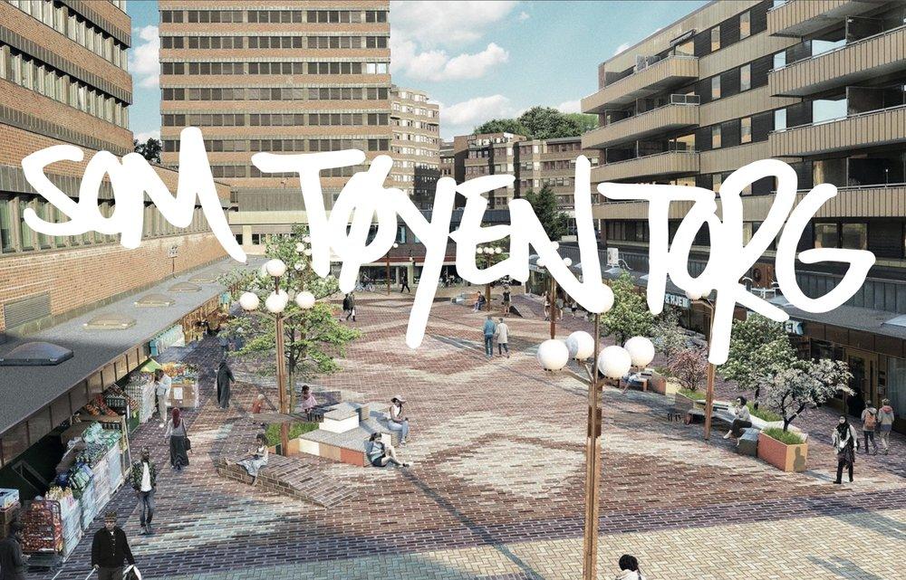 """Tøyen Torgforening - I januar 2018 startet prosjektet """"Torgløftet for Tøyen"""", og resultatet ble blant annet etablering av Tøyen Torgforening - en helt ny modell for samarbeid mellom næringsliv, offentlig virksomhet og beboere. Torgforeningen er under etablering."""