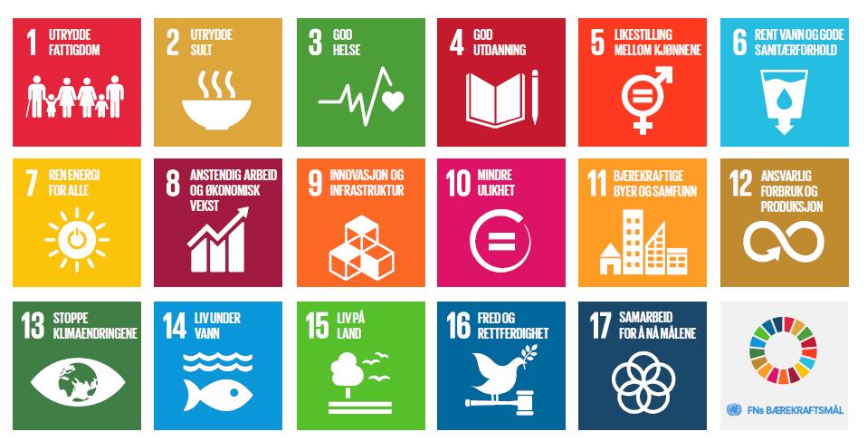Det hadde vært fantastisk om norske (og gjerne også internasjonale) retailere begynte å bruke FN's Bærekraftsmål i sitt arbeid. Noen som kjenner noen som gjør det?