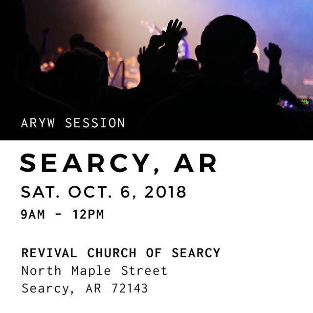 AR Youth Worship Clinic is happening this Saturday. And we have a special guest! Check our stories to see who is coming. 👆🏻 We hope to see you there! . . . #arkansasyouth #aryouthworship #ARYW #ARYWsessions #worshipclinic