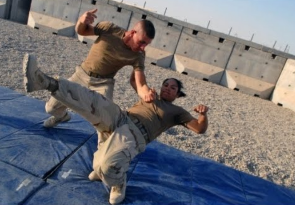 Modern Army Combatives Practice in Theater