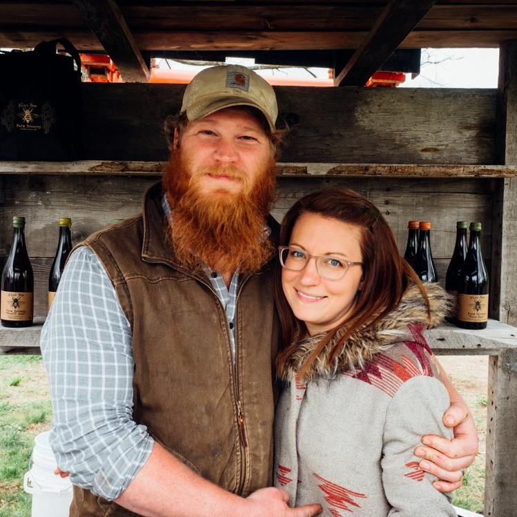 Emily & Evan of Plan Bee Farm Brewery (NY)