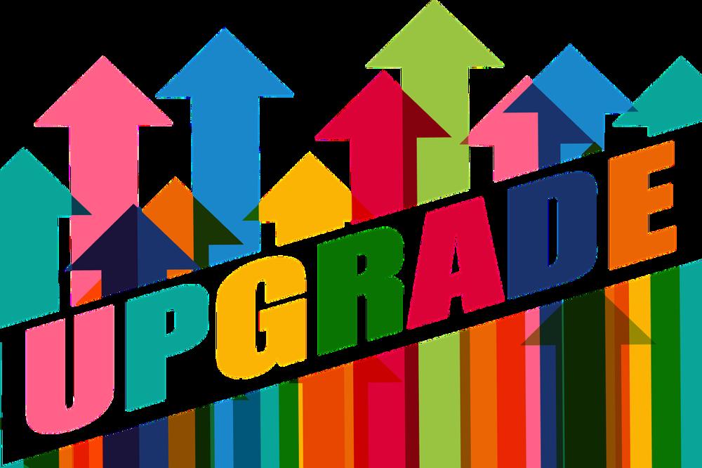 Upgrade graphic