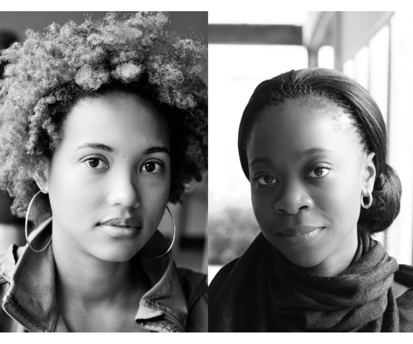 / Our first portraits of each other. Oh how fresh faced we were! /