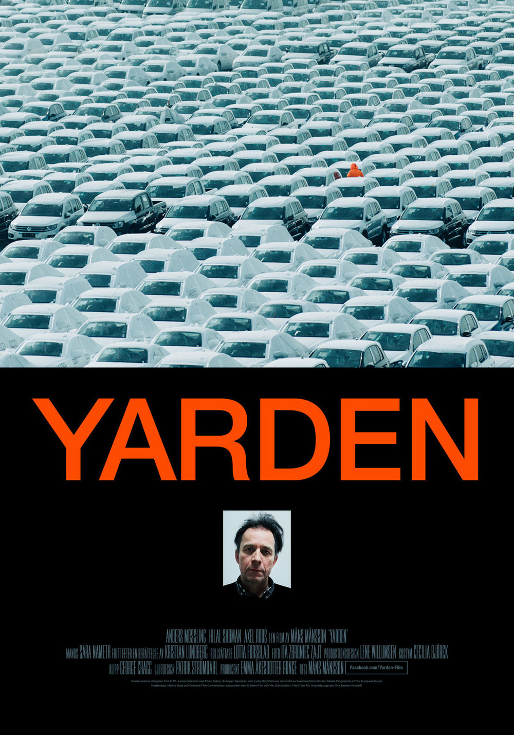 YARDEN Poster for Måns Månsson's feature film