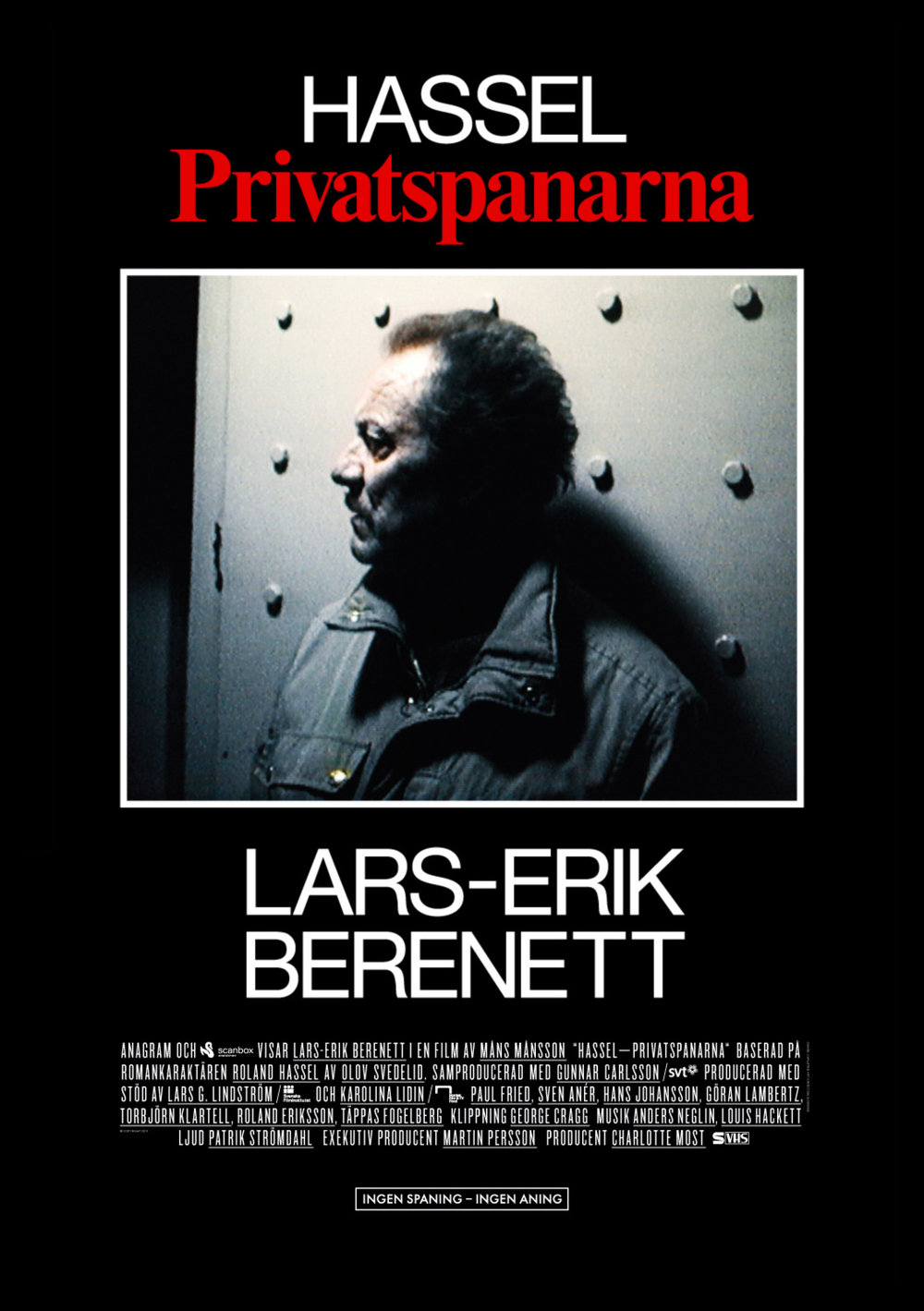 HASSEL Poster for Måns Månsson's feature film