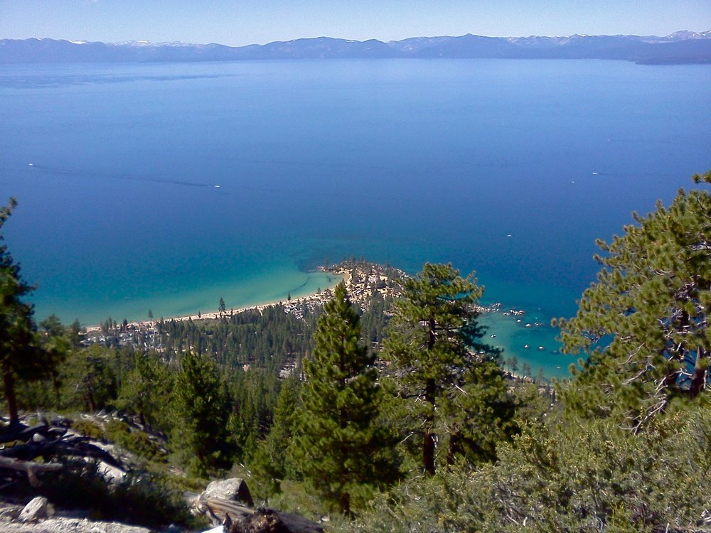 East Tahoe - Flume Trail View of Sand Harbor