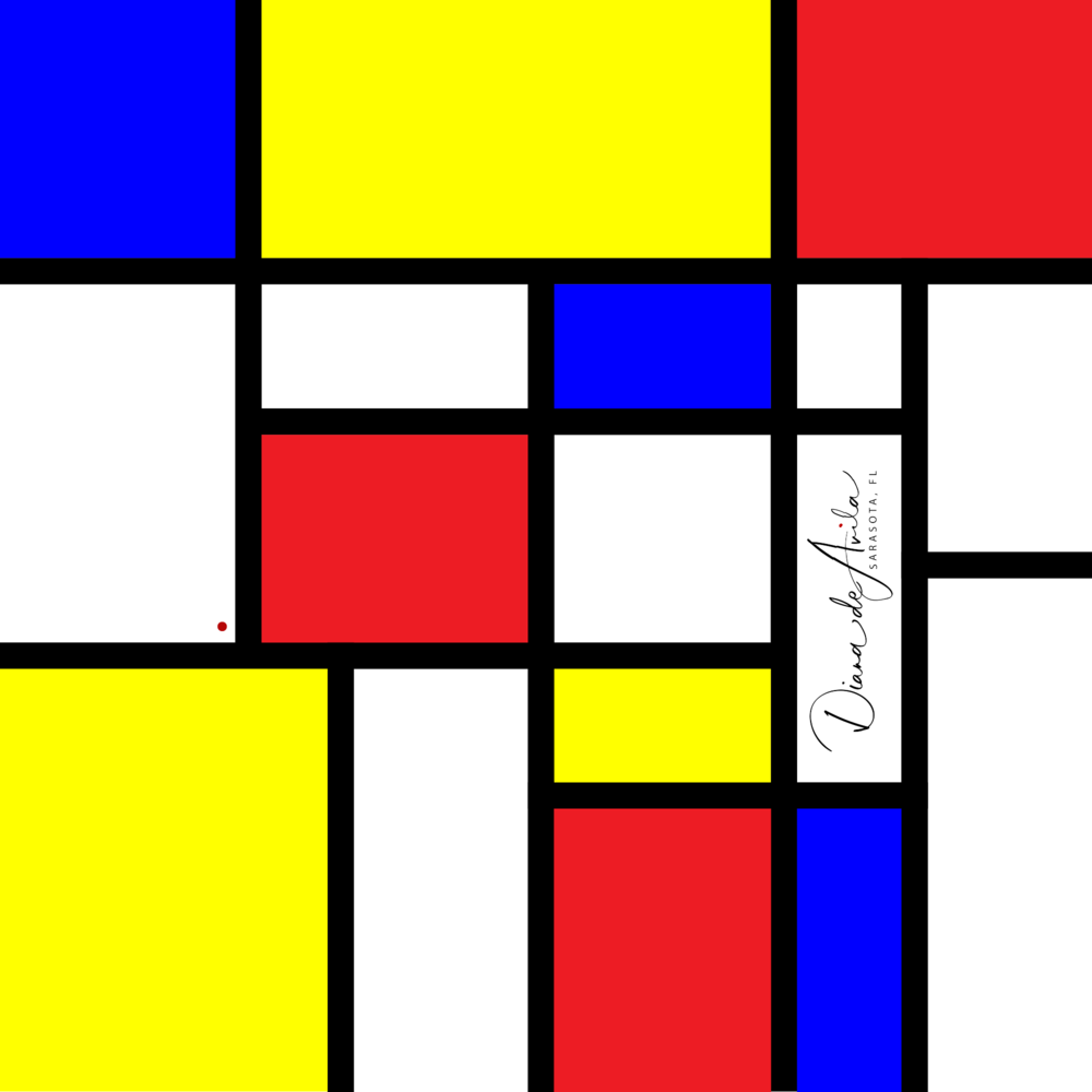 Blocked in the Spirit of Mondrian